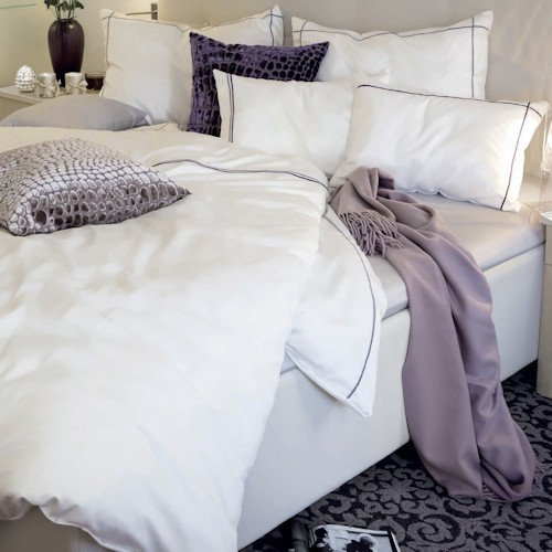 bettw sche uni farben in qualit t satin b gelfreie seersucker jacquard in vielen farben und. Black Bedroom Furniture Sets. Home Design Ideas
