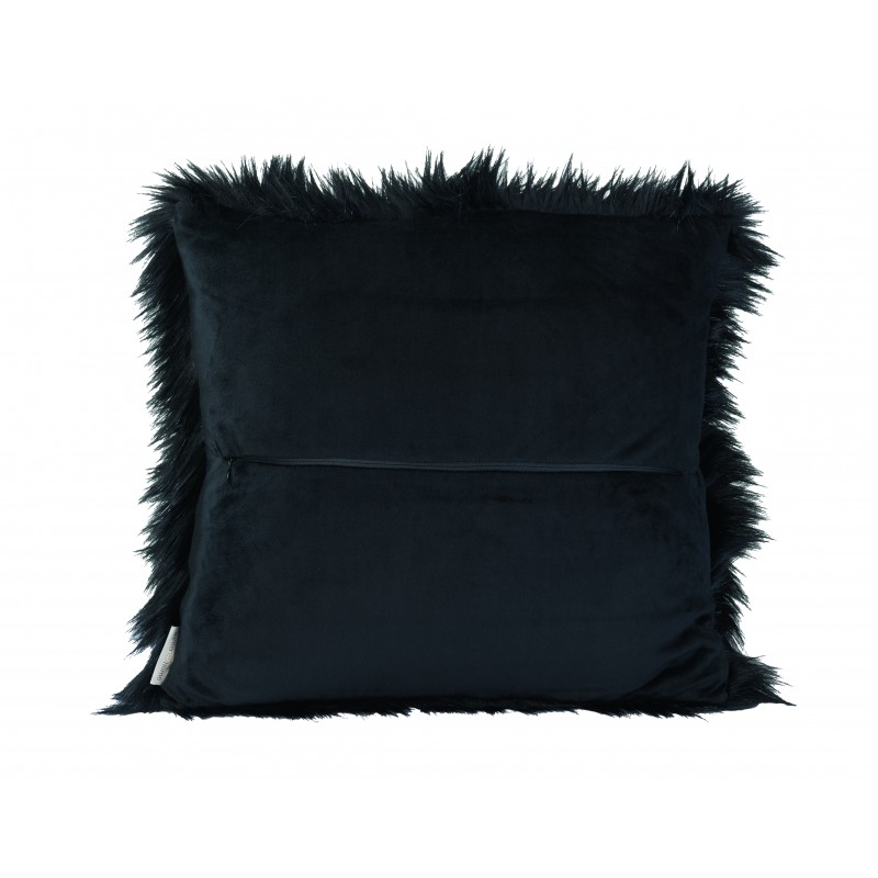 Winter Home Kissen Fellimitat Blackwolf 45x45 cm