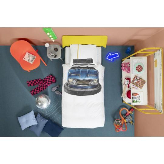 Snurk Kinderbettwäsche Garnitur SCOOTER 160x210+65x100 cm