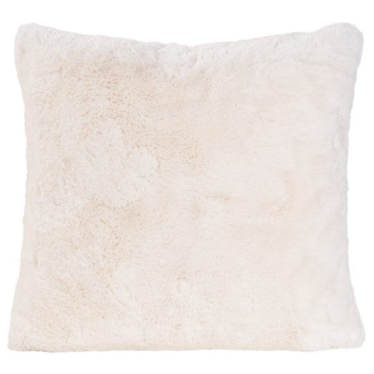 Winter Home Kissen Fellimitat GUANACO CREAM 45x45 cm und 60x60cm