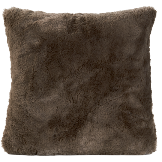 Winter Home Kissen Fellimitat GUANACO SMOKE 45x45 cm und 60x60cm