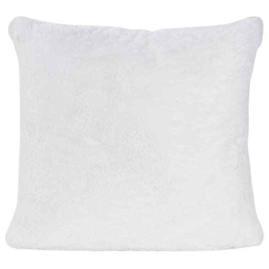 Winter Home Kissen Fellimitat GUANACO WHITE 45x45 cm und 60x60cm