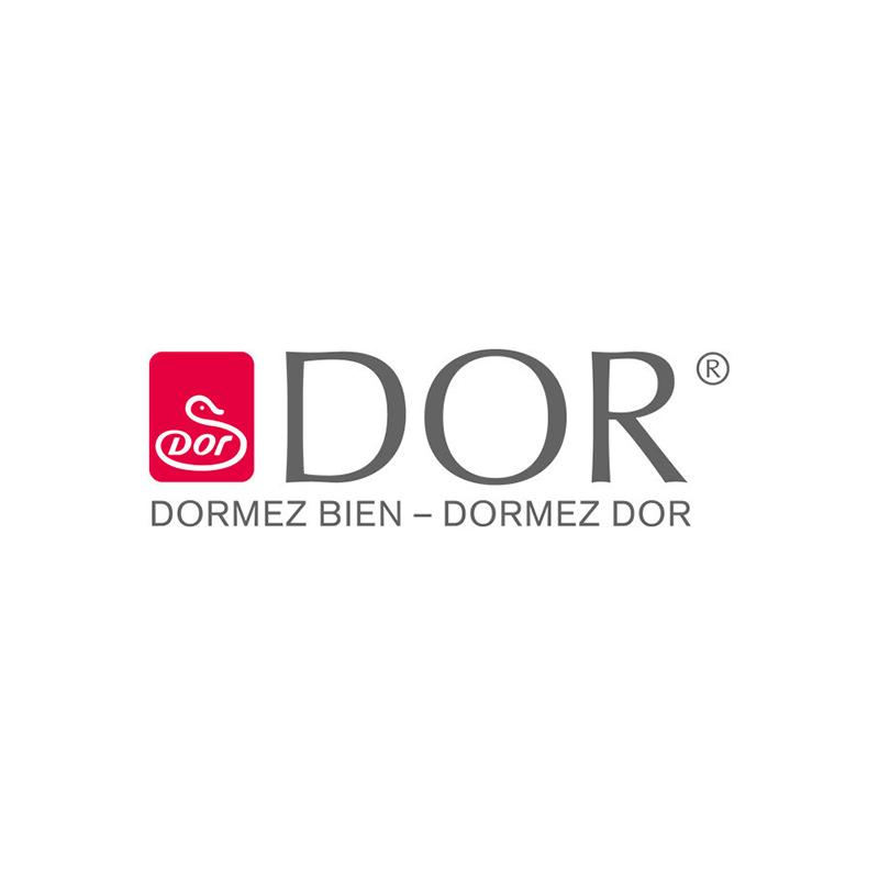 Dorbena 3-Kammer-Kissen  CALTHA PRO low mit Gänsedaunen und Gänsefedern