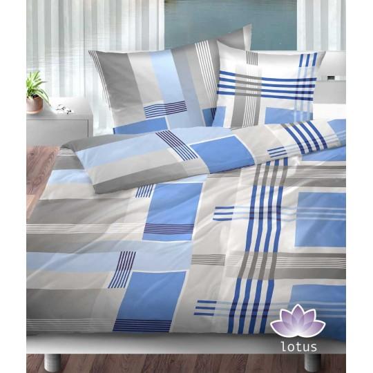Bettwäsche Jersey JEFFREY blau