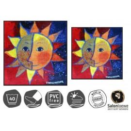 Design Fussmatte Sole 85x85 cm