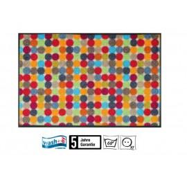 Fussmatte Mikado Dots 50x75 cm