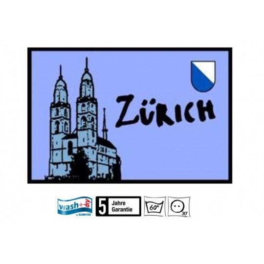 Fussmatte Zürich Wasch+dry 50x75 cm