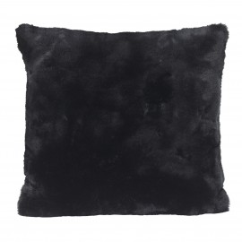 Winter Home Kissen Fellimitat Seal Black ca. 45x45 cm