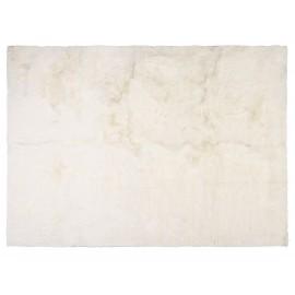 Fellimitat Teppich White Mink ca. 70x150 cm