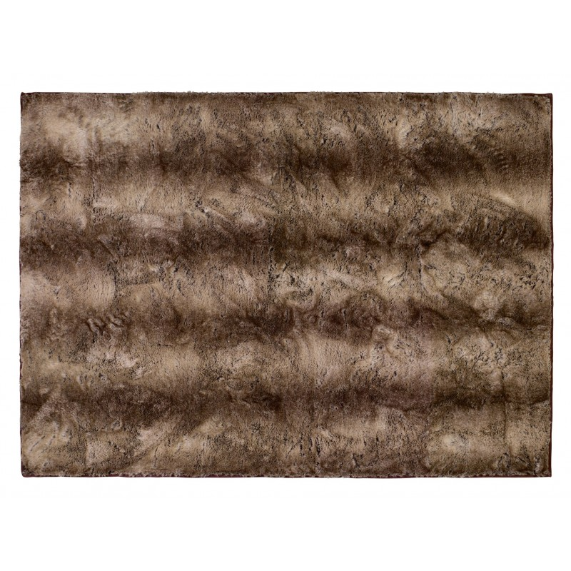 Winter Home Fellimitat Teppich Yukonwolf ca. 70x150 cm Braun