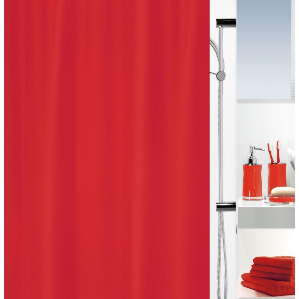 Duschvorhang 240x200 spirella textil duschvorhang primo uni in 14 farben erhältlich