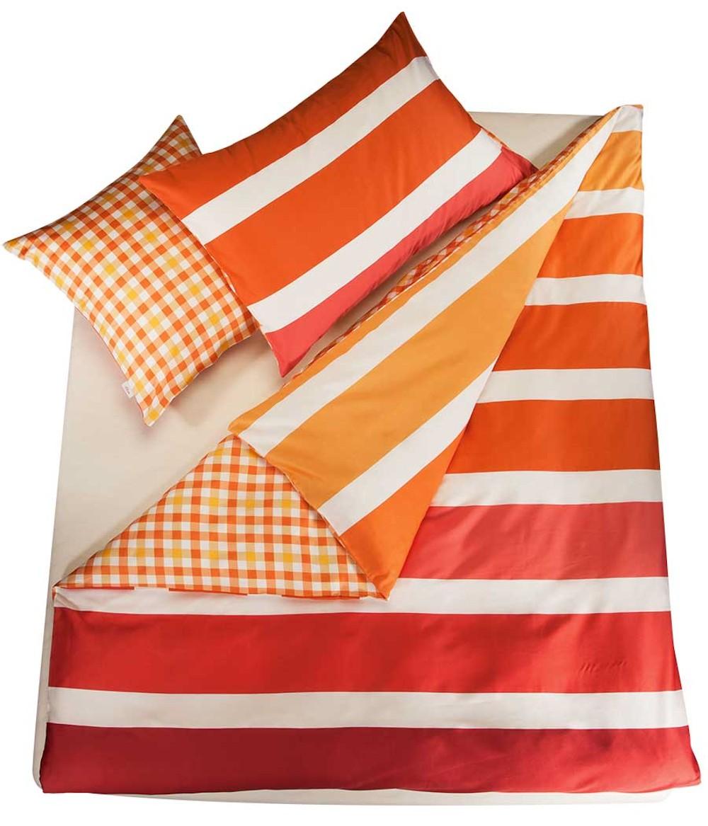 bettw sche pink orange my blog. Black Bedroom Furniture Sets. Home Design Ideas