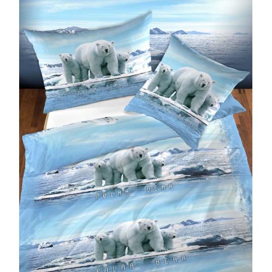 Jugendbettwäsche Garnitur Polar Bear