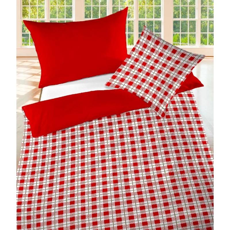baumwolle bettw sche renforc chalet doubleface look. Black Bedroom Furniture Sets. Home Design Ideas