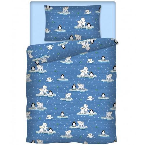 Kinderbettwäsche für Mädchen Kleine Eisbären