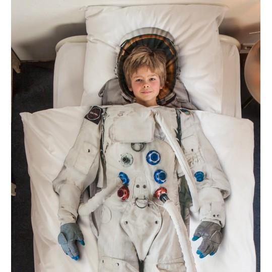 Kinderbettwäsche-Garnitur Snurk Astronaut