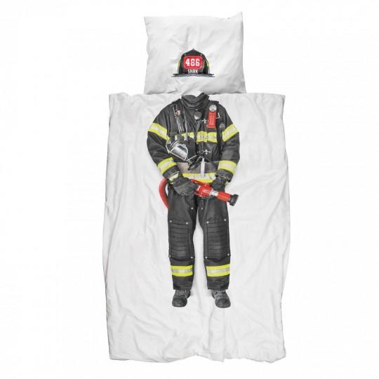 Kinderbettwäsche Snurk Feuerwehrmann