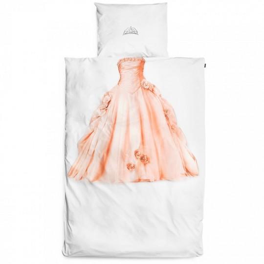 Kinderbettwäsche-Garnitur Snurk Prinzessin 160x210+65x100 cm