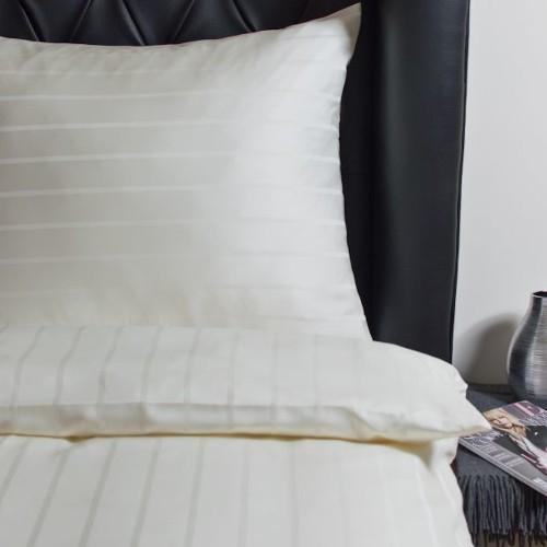 Luxus Tencel Bettwäsche-Garnitur Streifenmuster