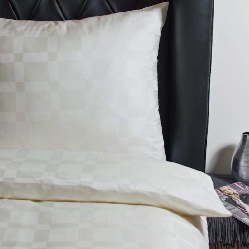 Hefel Luxus Bettwäsche Karomuster