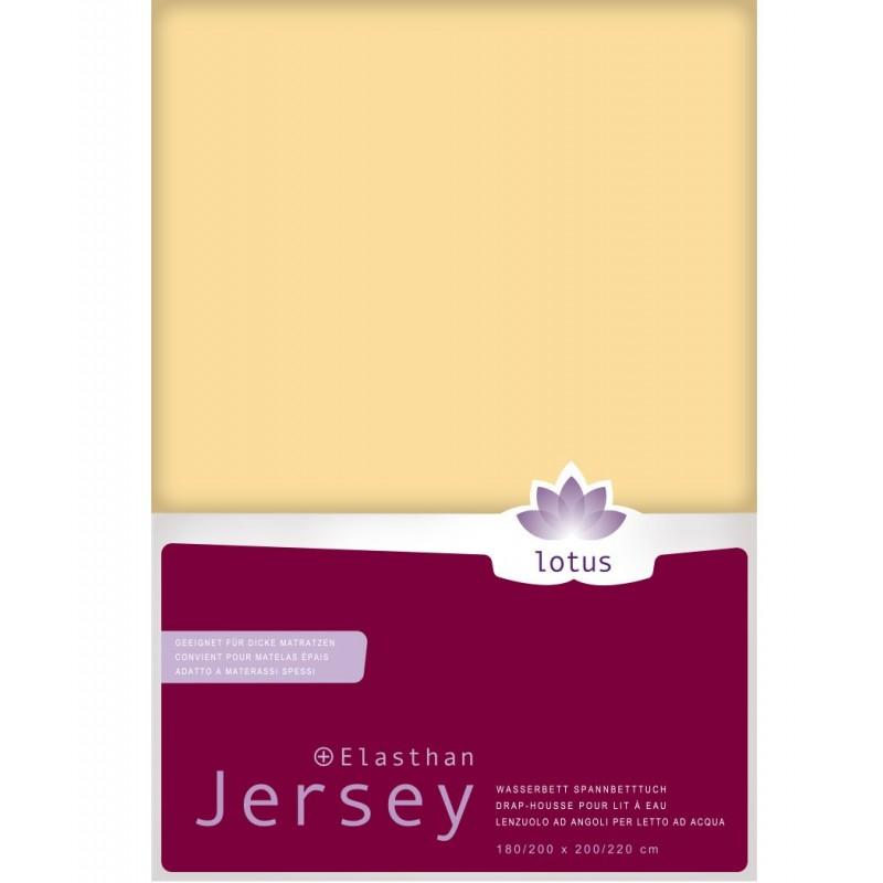 Jersey Fixleintuch Lotus für Wasserbetten