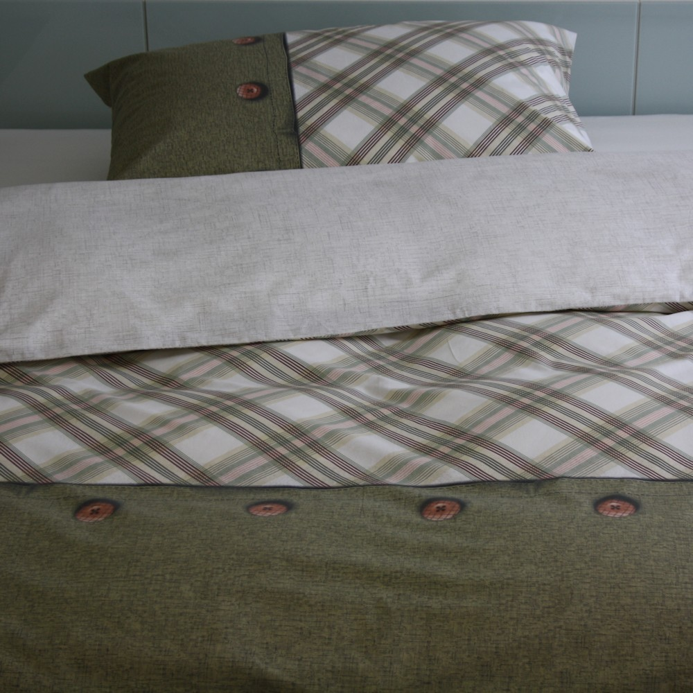 tamara r baumwolle bettw sche garnitur energy. Black Bedroom Furniture Sets. Home Design Ideas