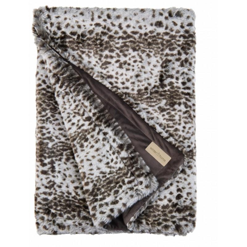 winter home decke fellimitat serval 140x200 cm preis chf. Black Bedroom Furniture Sets. Home Design Ideas