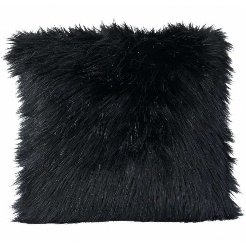 Winter Home Kissen Fellimitat Blackwolf 45x45 cm