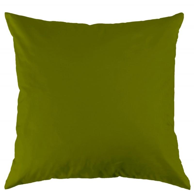 Tamara R Satin Bettwäsche Uni High Speed grün Kissen 65x65 cm