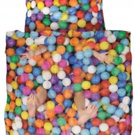 Snurk Jugendbettwäsche Ball Pit 160x210/65x100 cm
