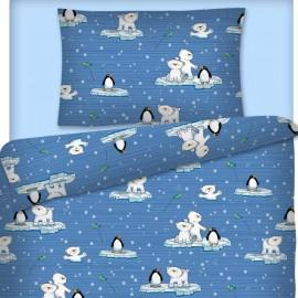 Kinderbettwäsche für Jungen Kleine Eisbären