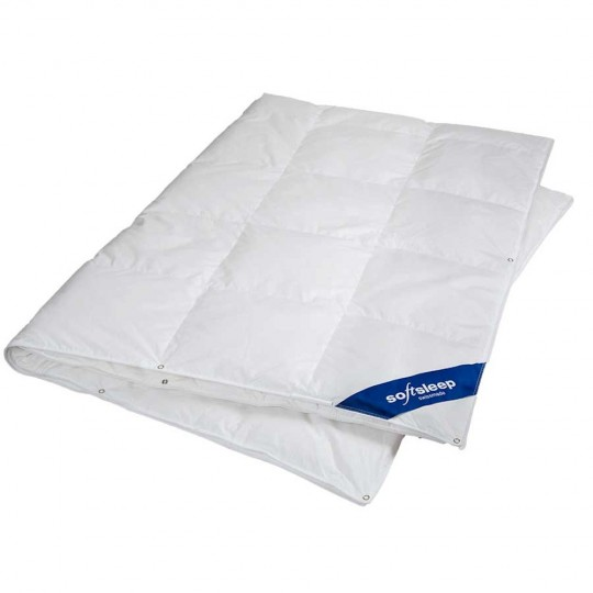Softsleep 4-Saisons Daunenduvet Optima 160x210 cm