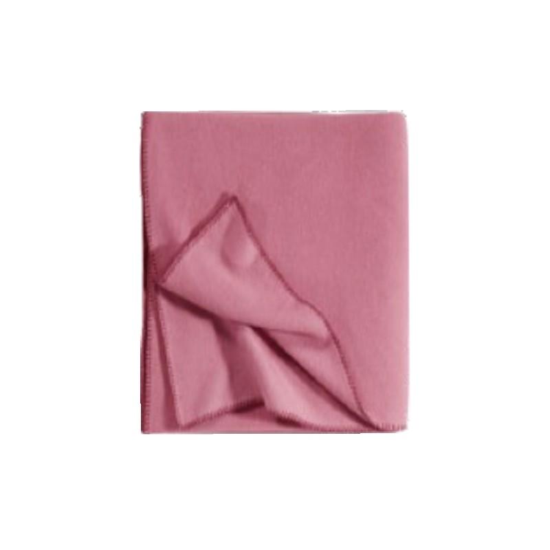 Fleece Decke Tony 160x200 cm malve