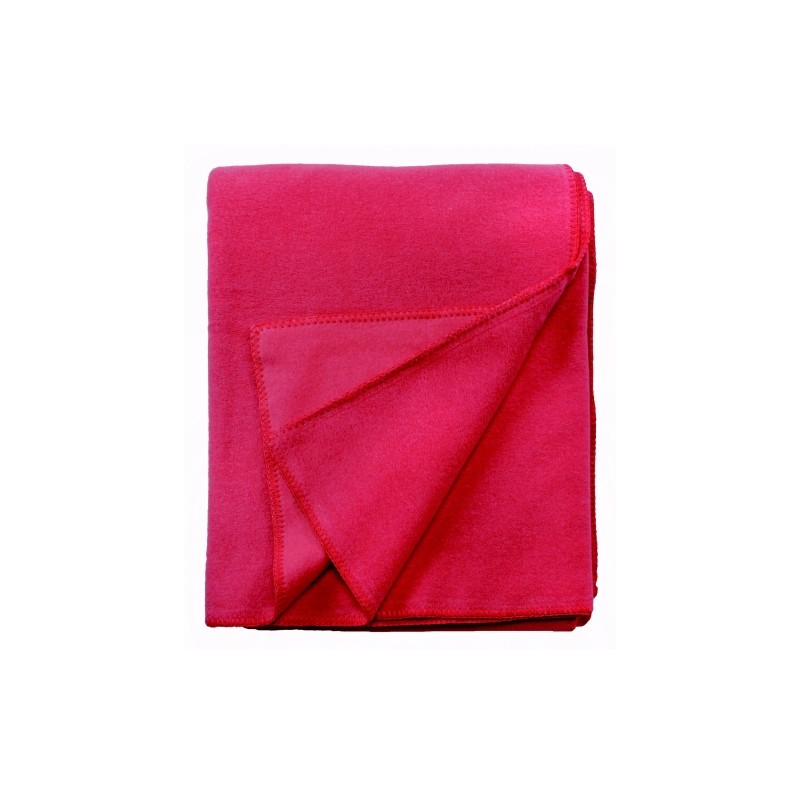 Fleece Decke Tony 160x200 cm rot