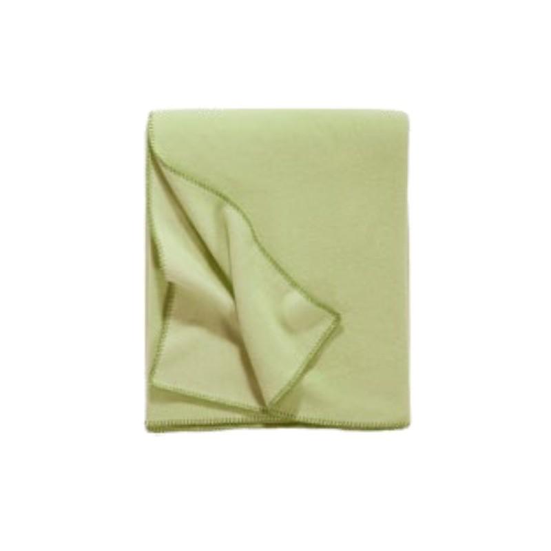 Fleece Decke Tony 160x200 cm pistazie