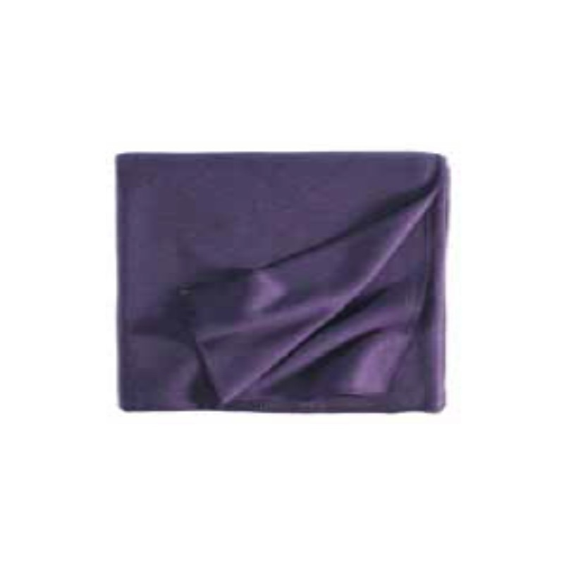 Fleece Decke Tony 160x200 cm aubergine