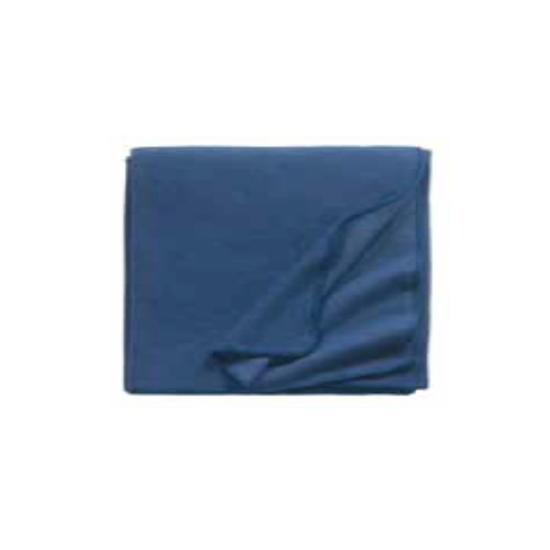 Fleece Decke Tony 160x200 cm denim