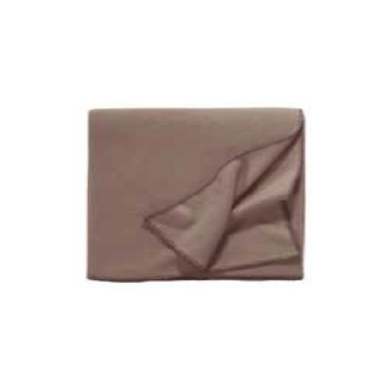 Fleece Decke Tony 160x200 cm nutria