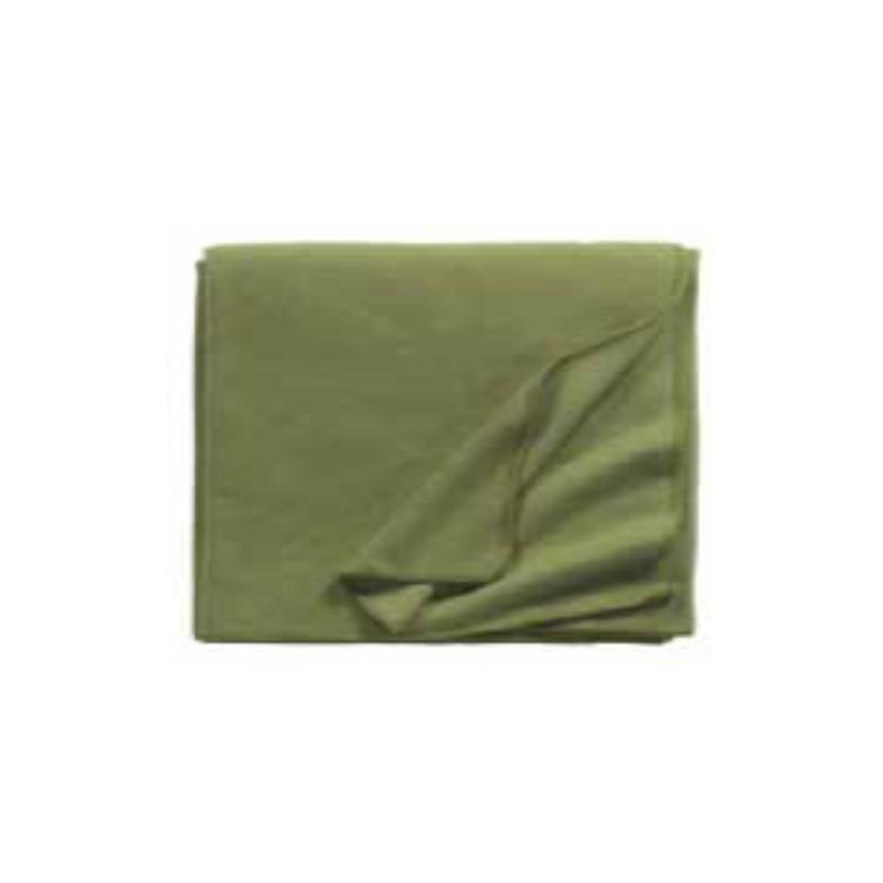 Fleece Decke Tony 160x200 cm oliv