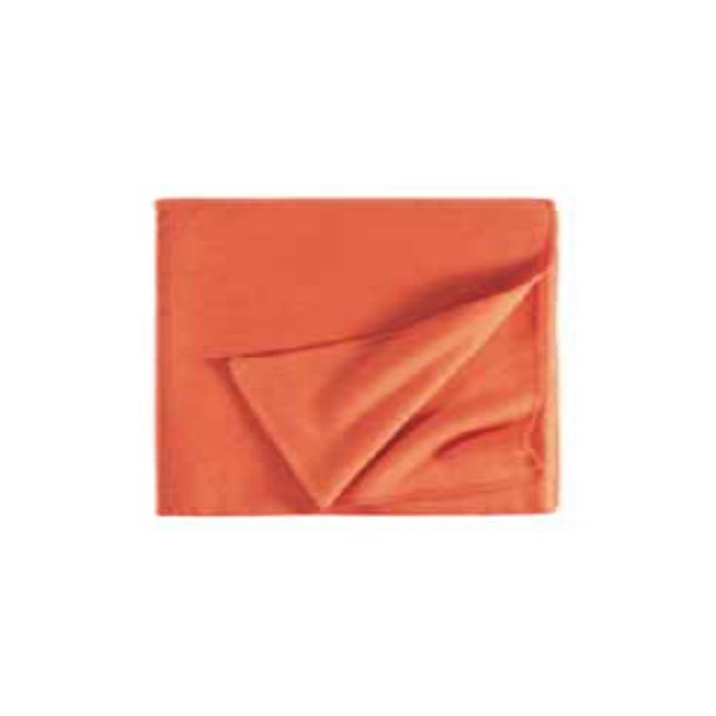 Fleece Decke Tony 160x200 cm orange