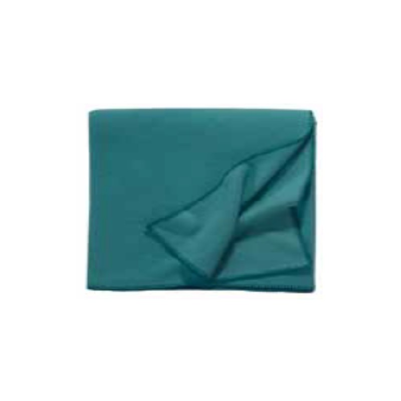 Fleece Decke Tony 160x200 cm petrol