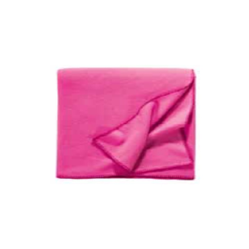 Fleece Decke Tony 160x200 cm pink