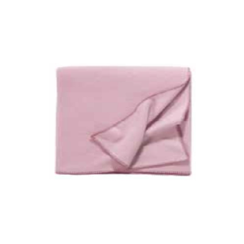 Fleece Decke Tony 160x200 cm rosa
