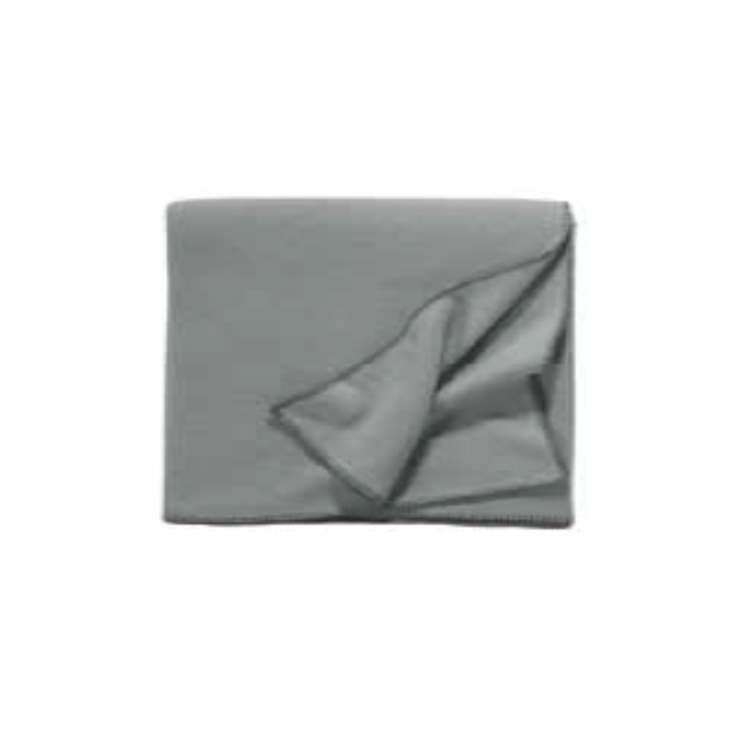 Fleece Decke Tony 160x200 cm silver