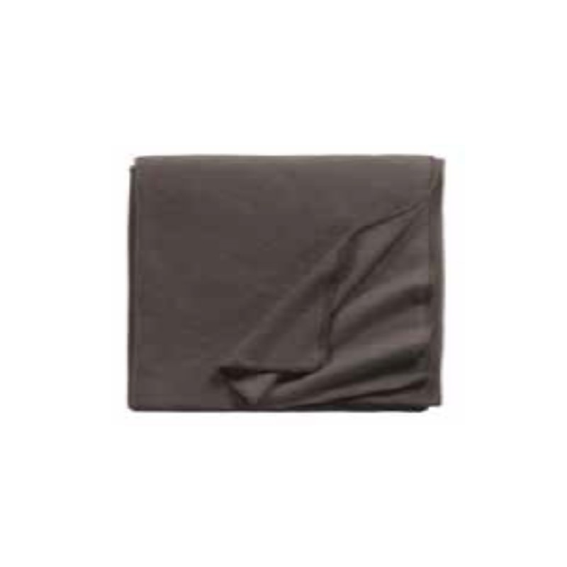 Fleece Decke Tony 160x200 cm walnutt
