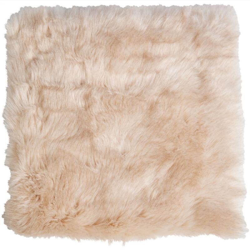 winter home fellimitat sitzpolster sandwolf 40x40 cm. Black Bedroom Furniture Sets. Home Design Ideas