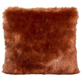 Kissen Fellimitat Ferret ca. 45x45 cm