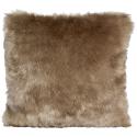 Winter Home Kissen Fellimitat Savannawolf ca. 45x45 cm
