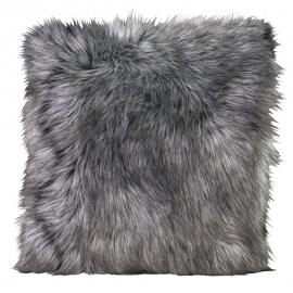Kissen Fellimitat Tamaskanwolf ca. 45x45 cm