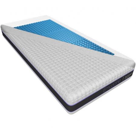 Matratze Technogel Viscoline Klimafaser 80x200 cm